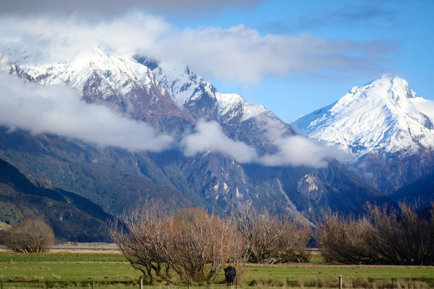 The grandeur of the Southern Alps