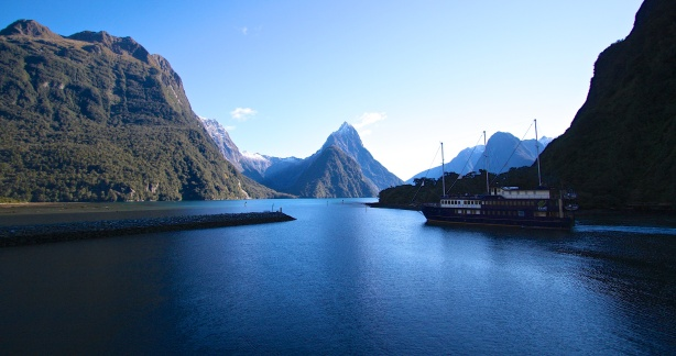 The iconic Milford Sound