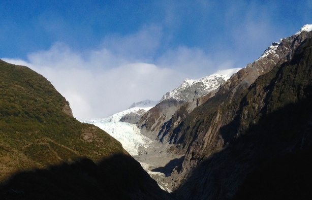 Franz Josef Glacier, ladies and gentlemen!